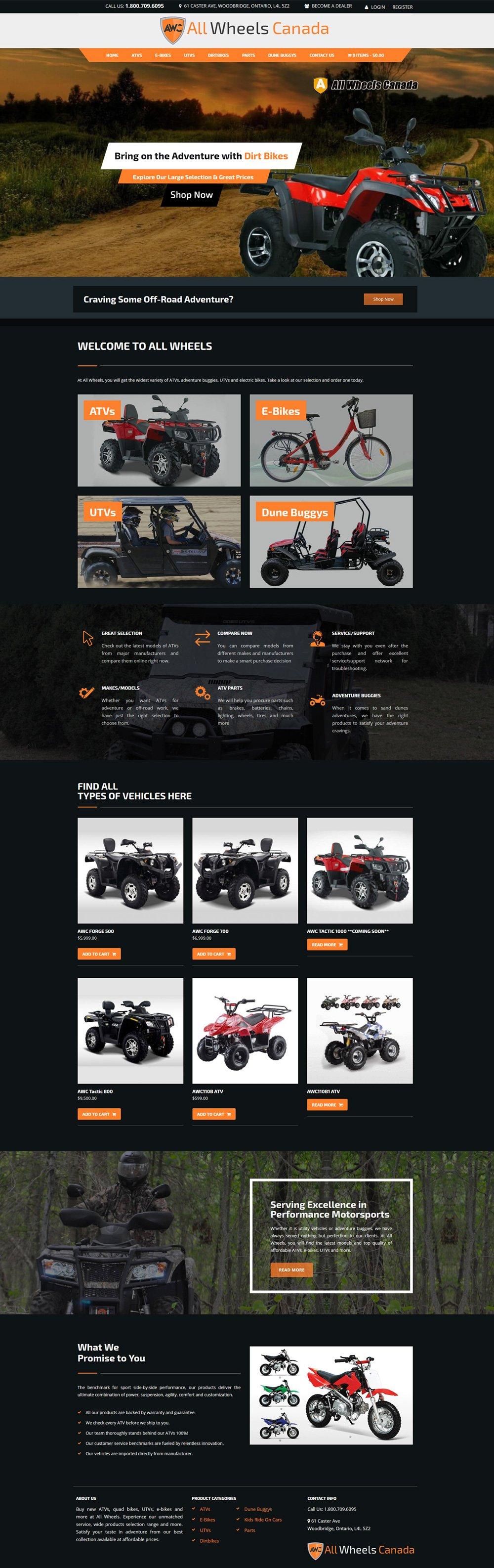 ecommerce Website Development Company Winnipeg