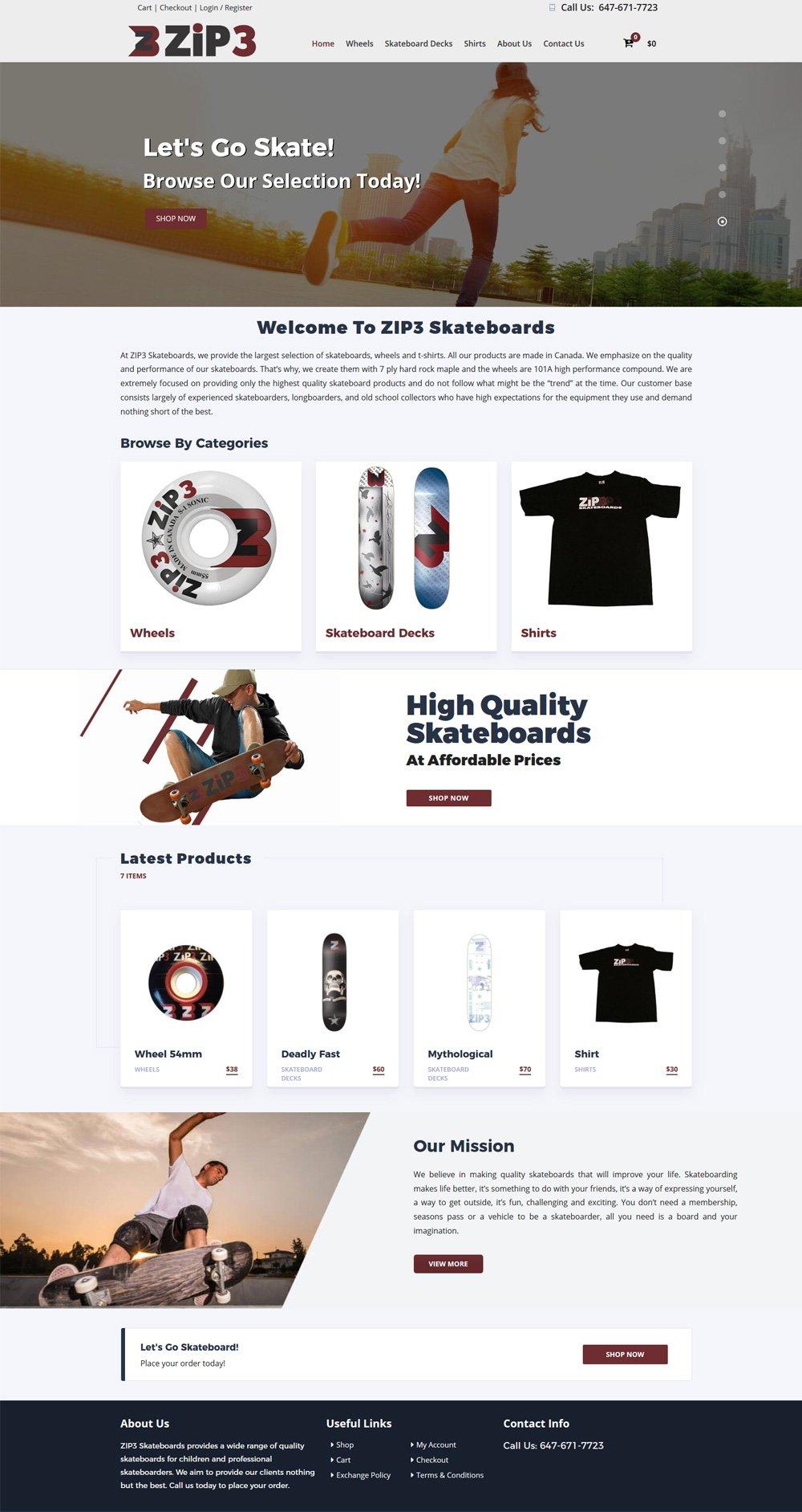 ecommerce Website Design Winnipeg