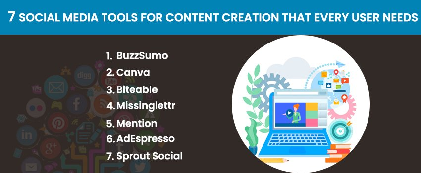7 Social Media Tools for Content Creation That Every User Needs